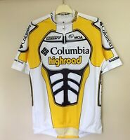 COLUMBIA HIGHROAD PRO TEAM MOA SCOTT CYCLING JERSEY EROICA SHIMANO