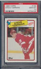STEVE YZERMAN 1988-89 TOPPS 88-89 NO 196 PSA 10 35715