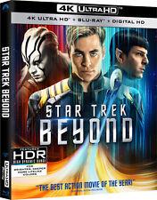 STAR TREK BEYOND  (4K ULTRA HD)- Blu Ray - Sealed Region free