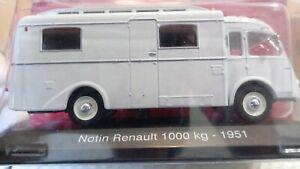 Camping Car Collection Altaya 1/43  Notin Renault 1000 Kg 1951