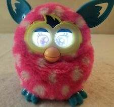 Hasbro FURBY BOOM Pink with White Polka Dots Works Great!