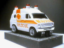 Rescue Van with Mags & new Auto World Neo Magnet chassis: See the Video below!