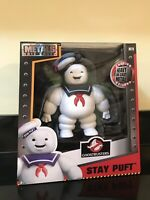Marshmallow Man Metals Die Cast Toy Figure Collectors Stay Puft Ghostbusters