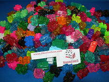 NEW 25 ASSORTED MEXICAN TRAIN MARKERS DOMINOES CHICKEN FOOT FREE SHIPPING