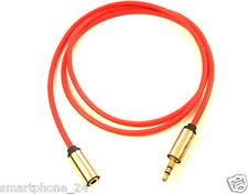 3.5mm Male to 3.5mm Female Stereo Audio Extension Cable Aux KLINKEN KABEL