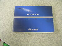 2010 10 KIA FORTE OWNER'S MANUAL BOOK SET FREE SHIPPING OM164