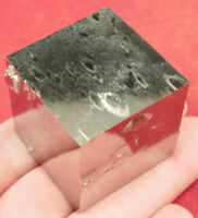 A BIG! Super Nice and 100% Natural PYRITE Crystal Cube! From Spain 248gr