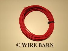 8 AWG GXL RED AUTOMOTIVE WIRE - HIGH TEMP - 25 FEET - WE HAVE MANY COLORS