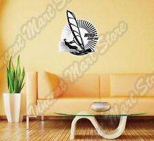 "Windsurfing Surf Windsurfer Water Sport Wall Sticker Room Interior Decor 20""X25"""