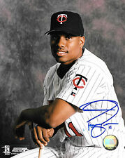 Jacque Jones * MINNESOTA TWINS * Signed 8x10 Photo J1 COA GFA