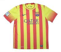 Barcelona 2013-14 Authentic Away Shirt (Good) L Soccer Jersey