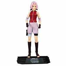 "Naruto Shippuden Sakura 7"" Color Verde Prendas para el torso Figura Mcfarlane"