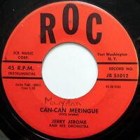 JERRY JEROME 45 Can-Can Meringue / Making Whoopee Cha Cha LATIN Exotica e464
