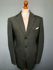 Vintage bespoke Savile Row tweed jacket and waistcoat size 44 long