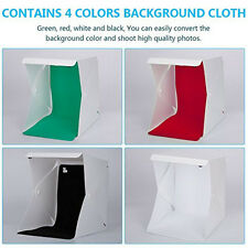 Light Room Photo Studio Photography Tent Kit Backdrop Cube Mini Box 4 Colors