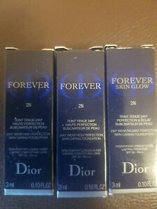 Dior forever skin glow 2N, 3x3ml, Probiergröße