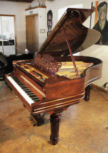 Restored, 1900, Steinway Model A grand piano for sale with a rosewood case