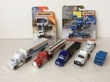 Matchbox Convoy Tractor Trailer And Truck Lot Getty Albertsons Mack Tow Truck