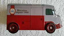 Camions Citroen HY, H van, Tub, Biscuiterie de L'Abbaye Biscuit tin + biscuits