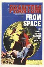 PHANTOM FROM SPACE Movie POSTER 27x40 Ted Cooper Harry Landers Noreen Nash