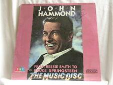 JOHN HAMMOND Bessie Smith to Bruce Springsteen Ossie Davis SEALED laserdisc LD