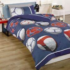 Ropa de cama de poliéster para niños de fútbol
