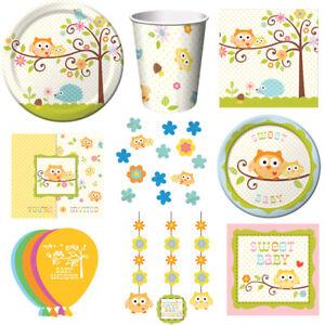 Baby Eule Kindergeburtstag Auswahl Eule Party Dekoration Geburtstag Eulenparty
