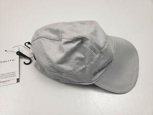 GoLite Ash Gray Lightweight ReActive Run Cap Baseball Hat - One Size - NEW