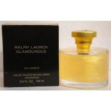 GLAMOUROUS SHIMMER by Ralph Lauren 3.4 oz / 100 ml EDT SPRAY Women NIB SEALED