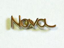 Chevrolet Nova Script Pin Badge, Auto Lapel Pin, Chevy Hat Tack, (**)