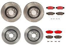 Front & Rear Brembo Brake Kit Disc Rotors Ceramic Pads For Thunderbird S-Type LS