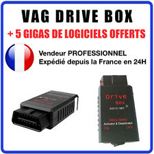 VAG DRIVE BOX - DESACTIVATION ANTI DEMARRAGE - REPROGRAMMATION AUDI GOLF SEAT