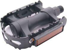 Pedale Edge MTB Kunststoff mit Aluminiumkäfig - schwarz