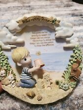 "Precious moments 3d plate ""Serenity Prayer"""