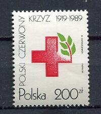 35996) POLAND 1989 MNH** Red Cross 1v