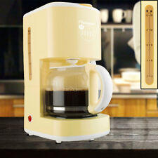 Coffee maker permanent filter 15 cups glass jug vanilla yellow warming plate new