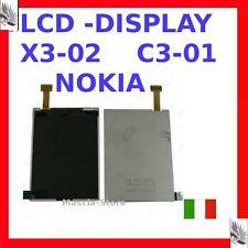 Display LCD Schermo Per NOKIA X3-02  C3-1 Nuovo TFT Ricambio