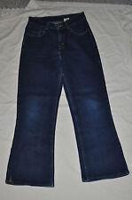 LEVIS 517 Boys/Girls 16 slim dark blue denim boot cuts jeans RED TAB euc