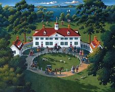 Jigsaw puzzle Explore America Mount Vernon Virginia NEW 500 piece Made in USA