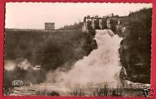 CPSM Roussel postcard dam Déversoir du Barrage d'EGUZON 23 Creuse A