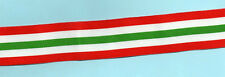 ITALY STAR - MEDAL RIBBON MODERN WEAVE FULL-SIZE 6 inches (15cm)