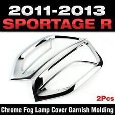 Chrome Fog Lamp Cover Garnish Molding For KIA 2011 2012 2013 Sportage R