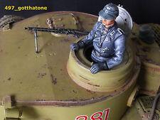 1/16 TANK COMMANDER PRO-PAINTED GERMAN HENG LONG. 120mm see pics.