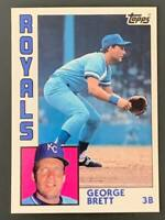1984 Topps Tiffany #500 George Brett Kansas City Royals HOF