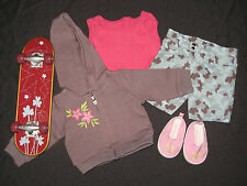Genuine American Girl Doll Clothes - Skateboard Outfit