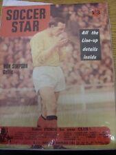 27/10/1967 stella del calcio rivista settimanale: VOL. 16 Nº 07-caratteristiche: Celtic-Ron