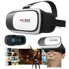 New VR Box Virtual Reality 3D Glasses Cardboard Movie Games for Samsung iPhone