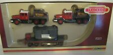 CORGI TRACKSIDE SCAMMELL CONTRACTOR x 2 TRAILER/LOAD - WYNNS SCALE 1:76 DG198003
