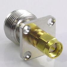 SMA Male Plug N Type Female Socket Chassis Panel Mount Bulkhead Adaptor