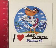 ADESIVI/STICKE: i Love PELIKAN-SUPER pirata Pen (020416156)